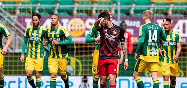 Foto: 'Eén grote winnaar bij dramatisch Feyenoord'