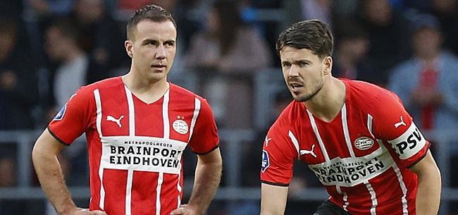 Foto: 'Mario Götze zorgt voor PSV-verbazing'