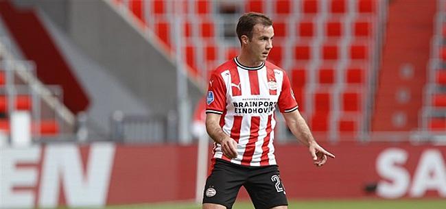 Foto: 'Götze laat PSV bibberen met onthulling'