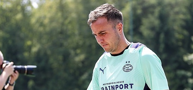 Foto: 'Verlenging Götze bij PSV juist een slecht iets'
