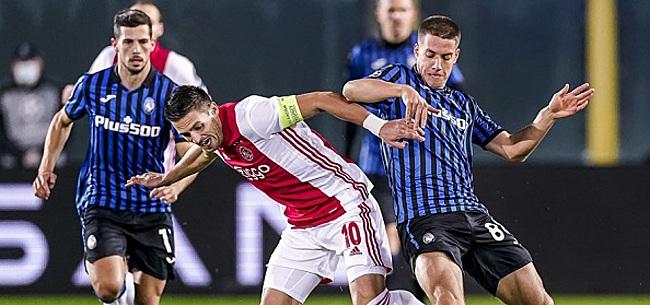 Foto: Italiaanse media delen onvoldoendes uit aan Ajax: 'Verdiende tweede gele kaart'