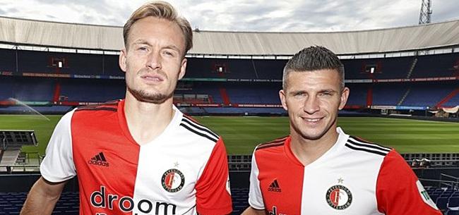 Foto: 'Basisrugnummers' voor Diemers en Linssen bij Feyenoord