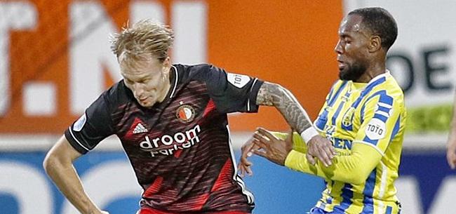 Foto: 'Met een beetje pech dreigt een rampseizoen voor Feyenoord'