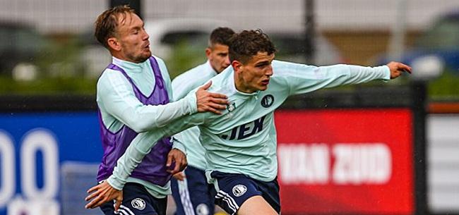 Foto: Guus Til is Feyenoorder: