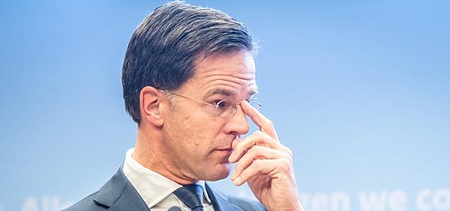 Foto: Minister-president Rutte: