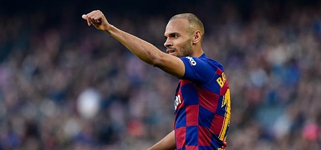 Foto: 'Braithwaite verlaat Barcelona alweer na amper half jaar'
