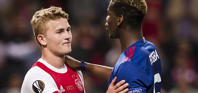 Foto: 'Matthijs de Ligt en Paul Pogba maken transfer naar dezelfde club'