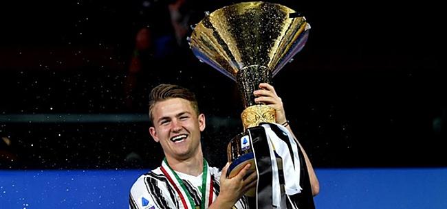 Foto: Juventus ontvangt herstelde De Ligt met open armen