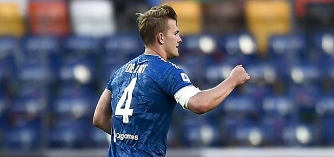 Foto: 'De Ligt maakt comeback in Juventus-selectie'