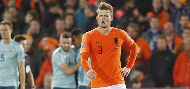 Foto: Nederland maakt gehakt van De Ligt: 'Op tijd verkocht door Ajax'