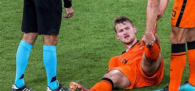 Foto: De Ligt hoort kritiek Van Basten: