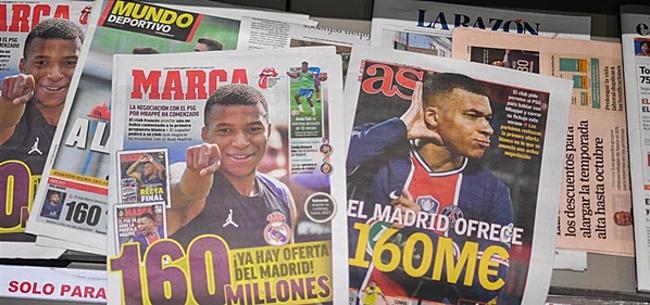Foto: Rel tussen PSG en Real Madrid bereikt hoogtepunt