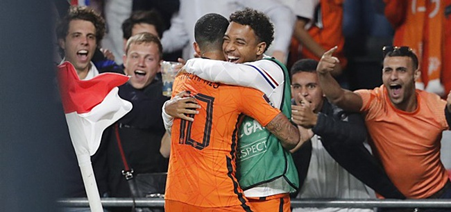 Foto: Memphis bijna Messi van Oranje