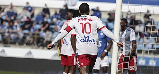 Foto: Memphis Depay toont zich met hattrick aan assists