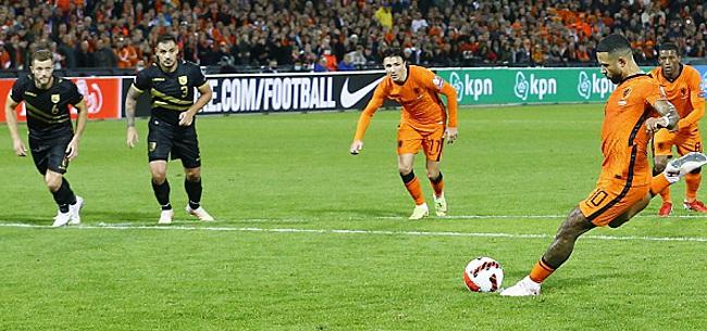 Foto: Oranje laat fans zes keer juichen in De Kuip