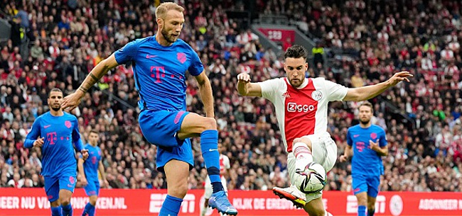 Foto: Pérez fel tegen Ajax: