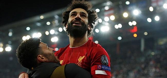 Foto: Van Dijk en Klopp lyrisch over Salah: 'Sensationeel'