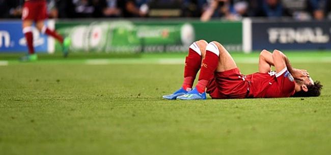 Foto: Salah verbaast voetbalfans met nieuw blessurenieuws