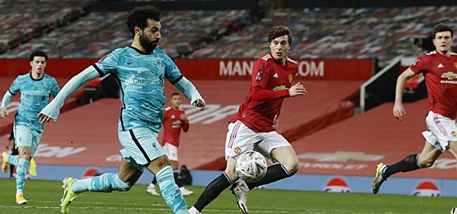 Foto: Manchester United knikkert Liverpool uit FA Cup