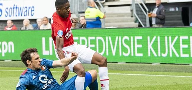 Foto: Feyenoord wijst voorstel KNVB af: geen inhaalduel met AZ vlak voor Klassieker