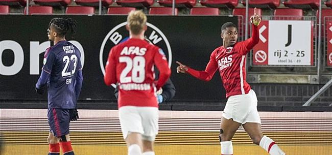 Foto: Makkie voor AZ, drie eigen goals in AFAS Stadion