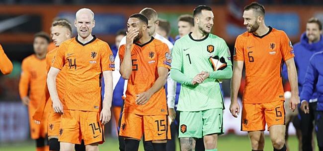 Foto: 'Oranje-opstelling op de schop'