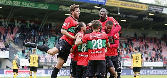 Foto: NEC verslaat Roda en staat op drempel Eredivisie