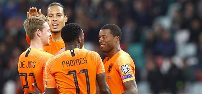 Foto: Sterspelers Oranje duidelijk over Van Gaal