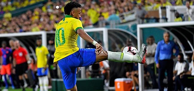 Foto: Neymar verrast bondscoach: 'Had het totaal niet verwacht'