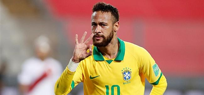 Foto: 'Neymar speelt in Qatar laatste WK'