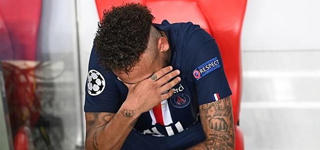 Foto: Caen-trainer hekelt 'huilende' Neymar en wijst naar Cruijff en Platini