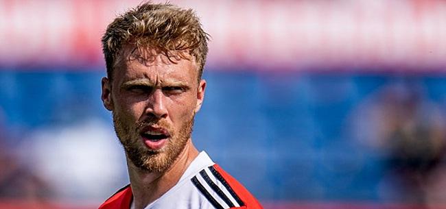 Foto: Jubilaris Jörgensen wacht met Feyenoord belangrijke weken