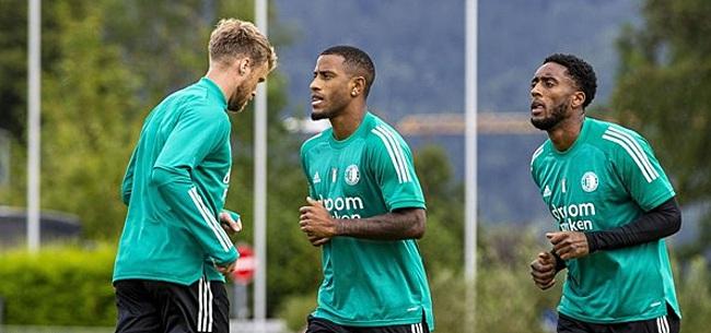 Foto: Aanhang klaar met Feyenoorder: