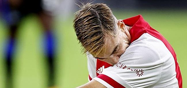 Foto: Tagliafico zet Argentinië boven titel Ajax: