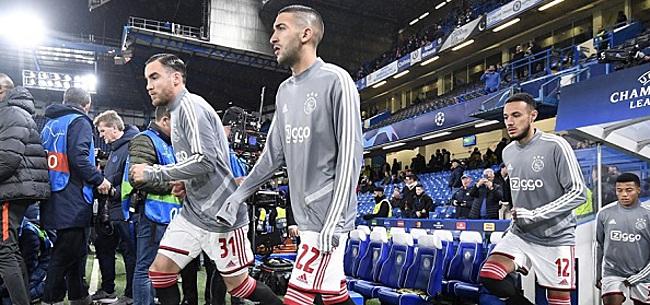 Foto: Ajax gaat weer trainen, Ziyech nog altijd selectiespeler