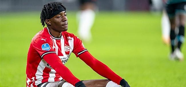 Foto: Madueke reageert op transfergeruchten: