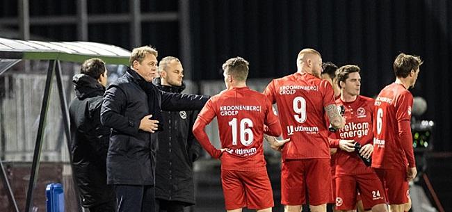 Foto: Almere City scoort vier keer in no-time, Go Ahead wint ook
