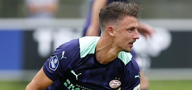 Foto: Boscagli looft PSV-nieuweling: 'Blij met hem te spelen'