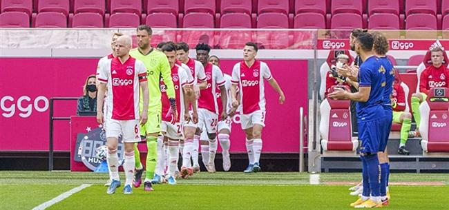 Foto: Ajax-fans fileren peperdure 'miskoop':