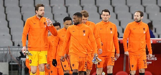 Foto: Turken fileren Oranje: 'Niet verrassend'