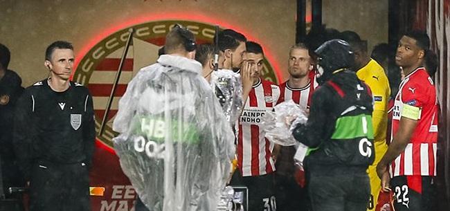 Foto: Olympiakos vindt PSV-dreun 'verdiend': 'Uitschakeling zou onrechtvaardig zijn'