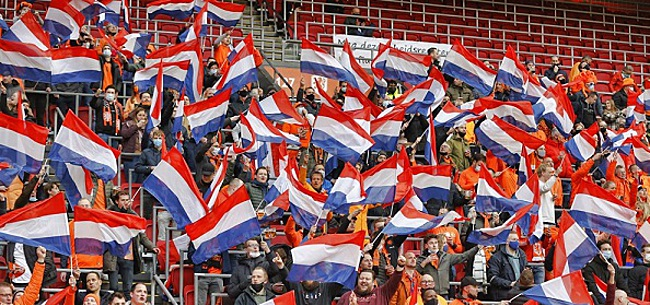 Foto: Minstens 12.000 fans bij EK-duels in Amsterdam