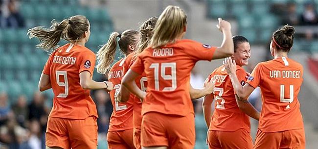 Foto: 'Oranje Leeuwinnen moeten Olympische droom definitief uitstellen'