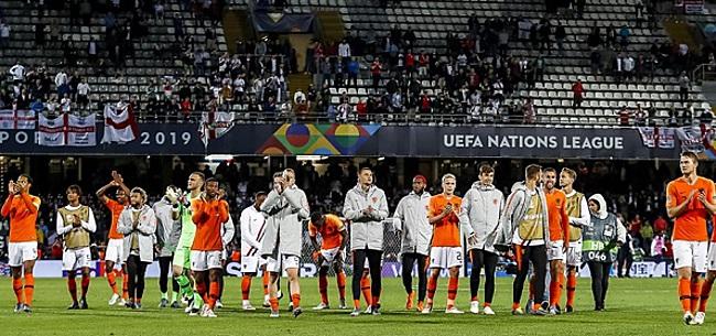 Foto: Succes in de Nations League levert Oranje miljoenen op