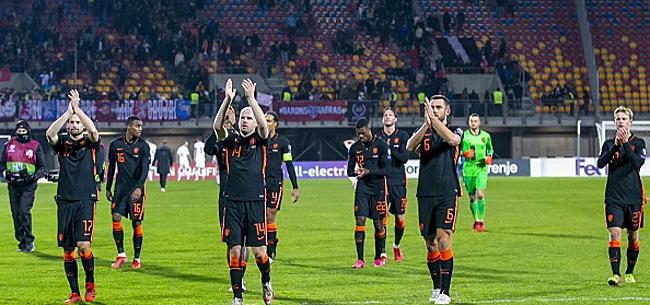 Foto: VI deelt vier onvoldoendes uit na Oranje-interland