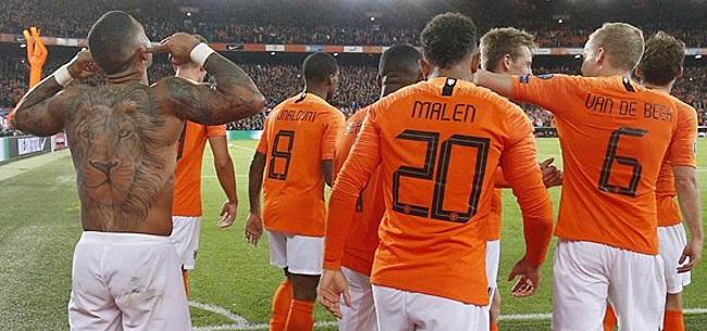 Foto: Nederlands elftal domineert UEFA-ranking, Memphis nieuwe nummer één