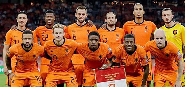 Foto: 'Slechts één Oranje-speler was níét goed tegen Turkije'