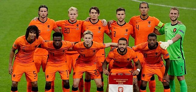 Foto: Nederland hekelt opstelling Oranje: 'Hij voegt níéts toe'