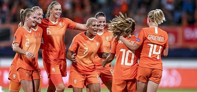 Foto: Oranje Leeuwinnen oefenen tegen België en Noorwegen richting OS