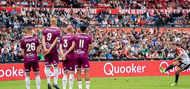 Foto: Linssen schiet Feyenoord naar koppositie